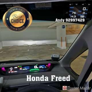 Honda Freed Lufi X1 Revolution OBD OBD2 Meter Gauge