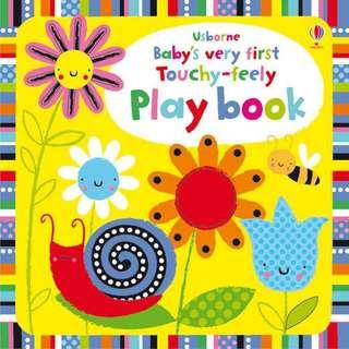 🚚 [Award Winning] Usborne Baby's very first touchy-feely play book