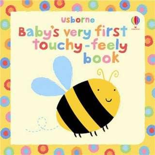 🚚 [BN] Usborne: Baby's very first touchy-feely book