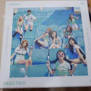 Twice - Page Two (Mint Ver) + PC + Special Card +Flag
