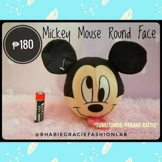 Mickey Mouse Round Face Stuffed Toy