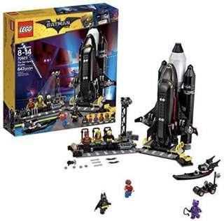 Lego Batman Space Shuttle