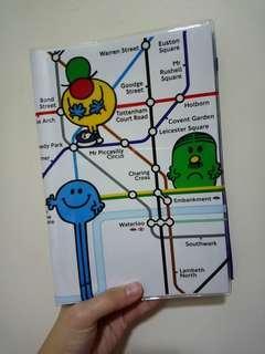 Mr Men and Little Miss Notebook