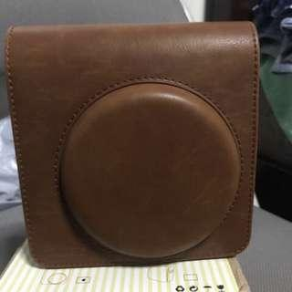 Instax SQ6 Brown Leather Case