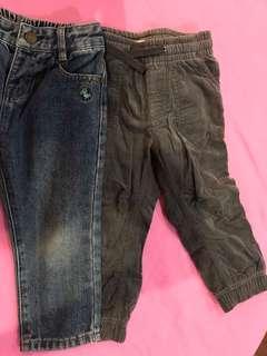 Poney & H&M long pant