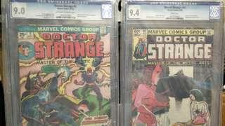 Marvel Comics vintage collectibles classics rare Key issue Hard to find comics graded Cgc 9.4 & 9.0