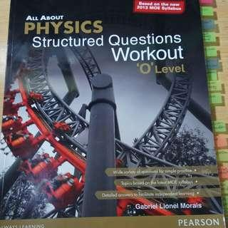 Olevel Physics Structual Questions Workout!(Categories into different topics)