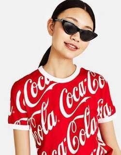 Bershka Coca-Cola T-Shirt