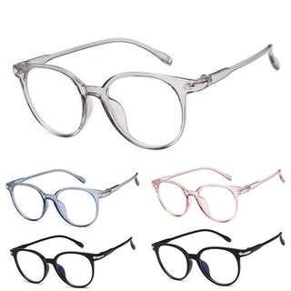 Kacamata Transparan - Lensa Anti Radiasi