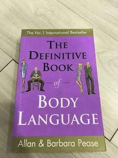 BN The Definitive Book of Body Language by Allan & Barbara Pease. Number 1 International Bestseller