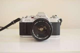 Canon AV-1 SLR Film Camera