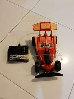 Toy Car challenger nikko rc systems remote control