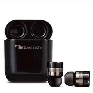 Nakamichi MyEars II TW1- Plus Wireless Earphone 真藍牙耳機