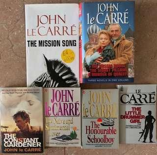 John Le Carre book collection