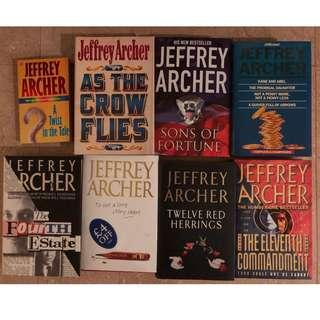 Jeffrey Archer book collection