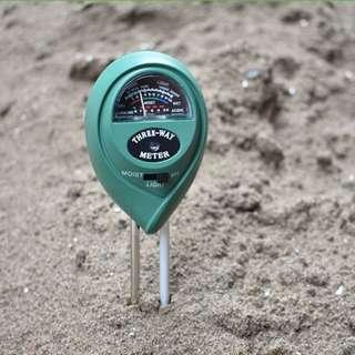 Gardening 3 in 1 Soil PH Meter / Light Meter / Water Meter Soil Checker