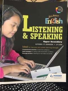 English oral and listening comprehension PRACTICE BOOK
