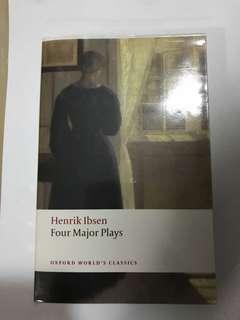 Henrik Ibsen 4 Major Plays