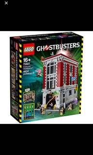 In Stock* Lego 75827 Ghostbusters Firehouse Headquarters