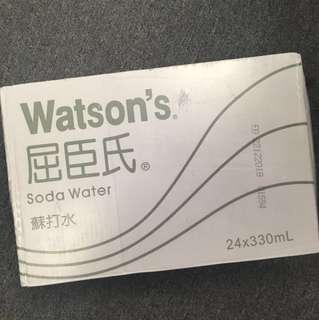 Watson's Soda Water (Full case)
