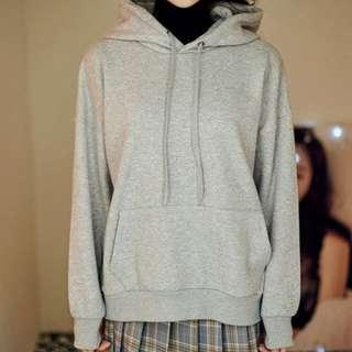 Grey Hearts Hooded Jacket