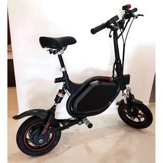 AM Tempo Escooter 52v, 17.5AH LG MJ1 Battery, 350W Motor, SW4 Throttle & Controller, Carbon Fiber Handlebar, Weight 19+Kg