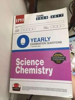 O level yearly science chemistry