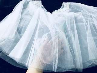 婚禮物資,高質lace 雪紗披肩