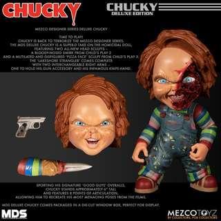 Pre-Order for Mezco Designer Series - Deluxe Chucky