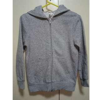H&M Gray Hooded Jacket for Boys