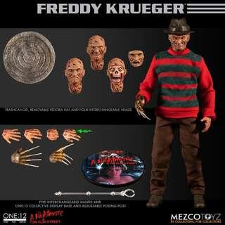 Pre-Order for One:12 Collective - A Nightmare on Elm Street: Freddy Krueger