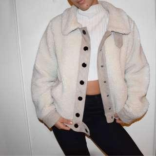 zara teddy bear jacket