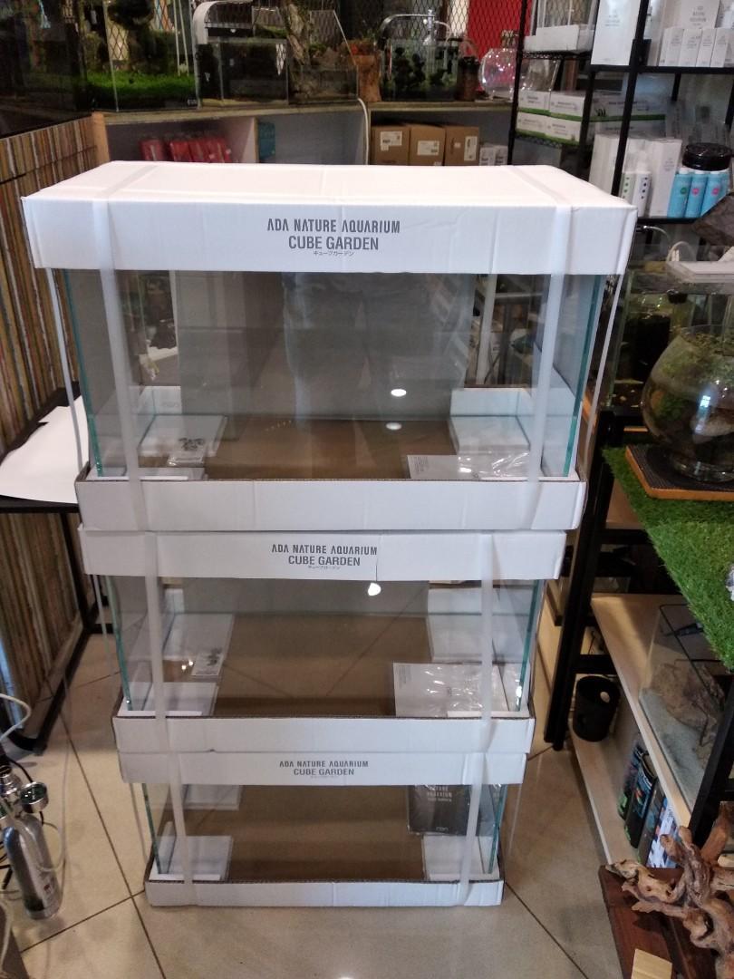 buying cheap uk store large discount ADA Cube Garden 60P 60x30x36cm, Pet Supplies, For Fish, Fish ...