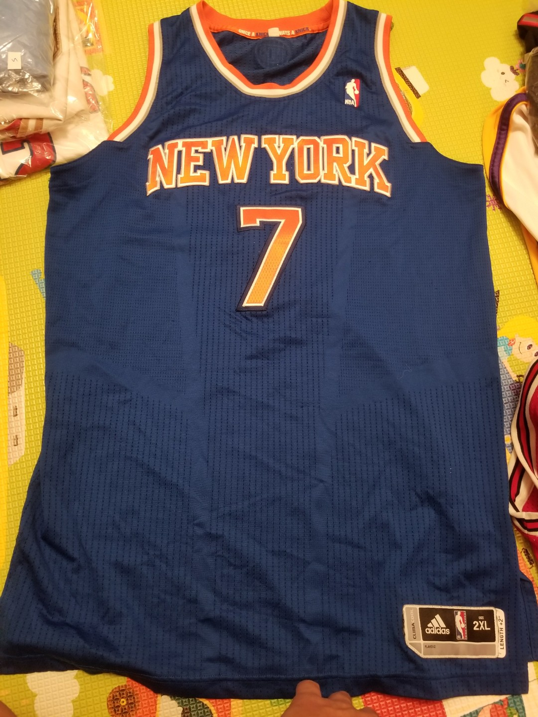 on sale 8a150 0713e Adidas Authentic Camelo Anthony New York Knicks Jersey