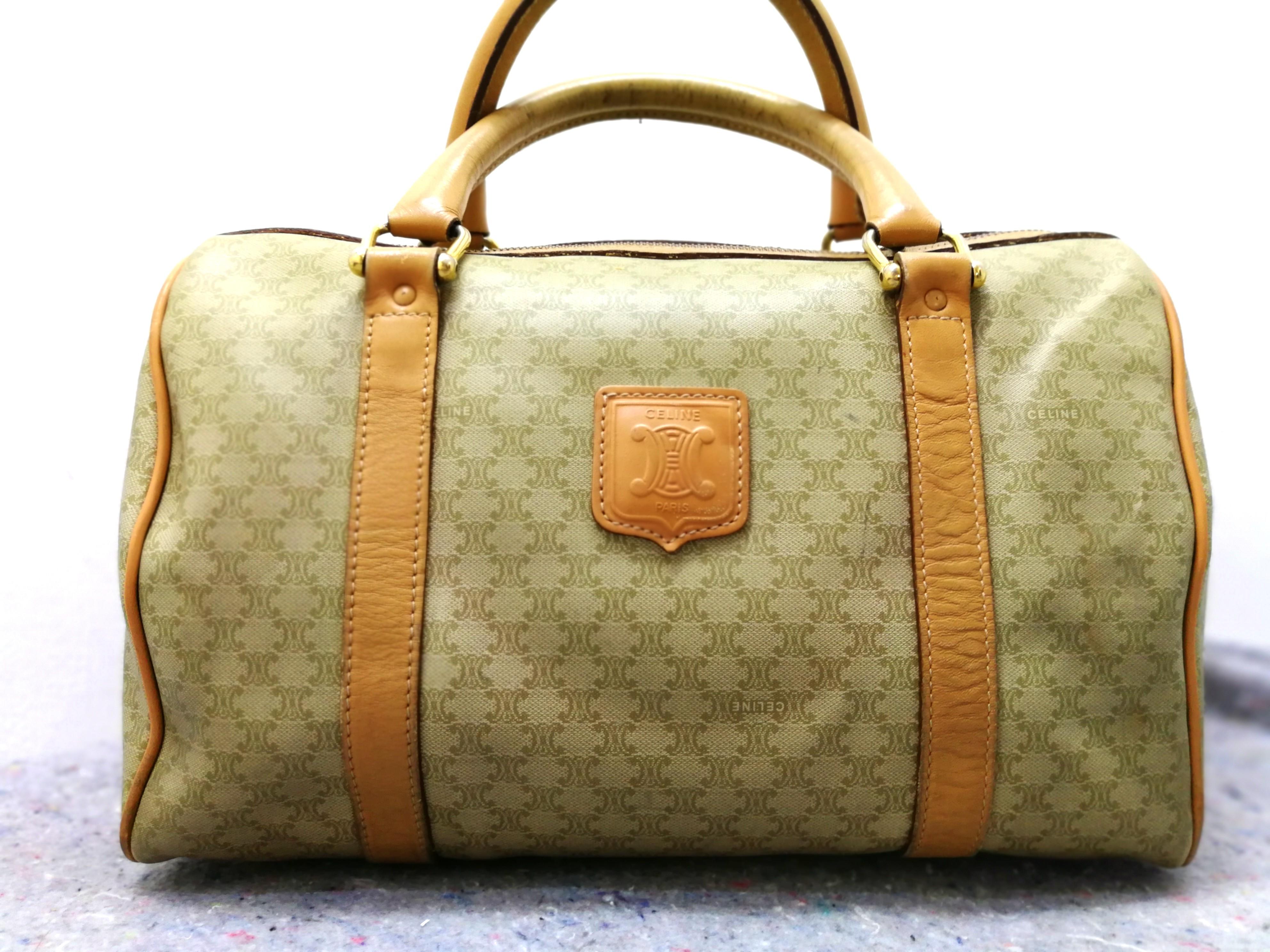b0810c9328f Authentic Celine Vintage Boston Bag, Luxury, Bags   Wallets on Carousell