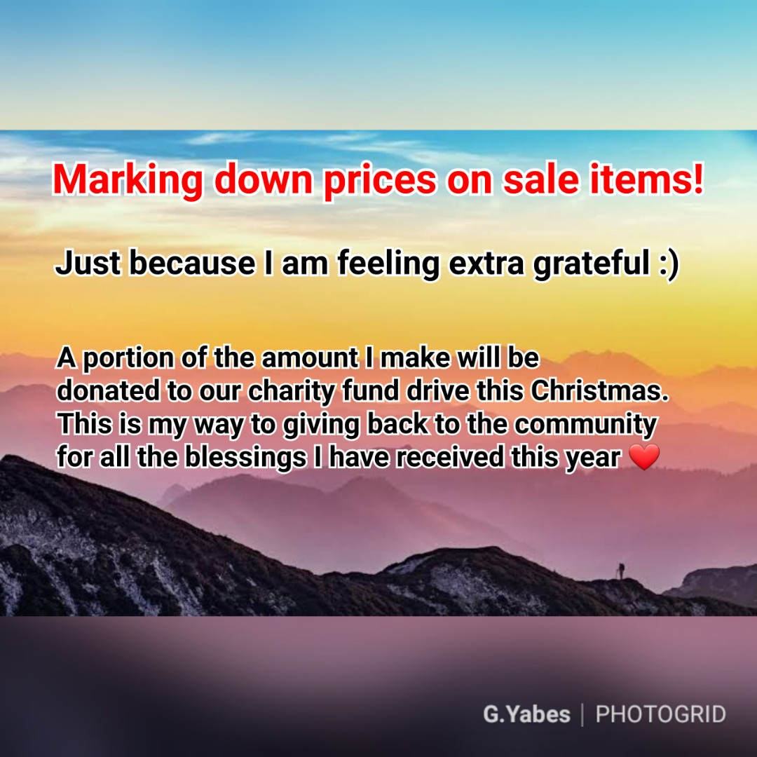 Because Theres So Much To Be Thankful For On Carousell