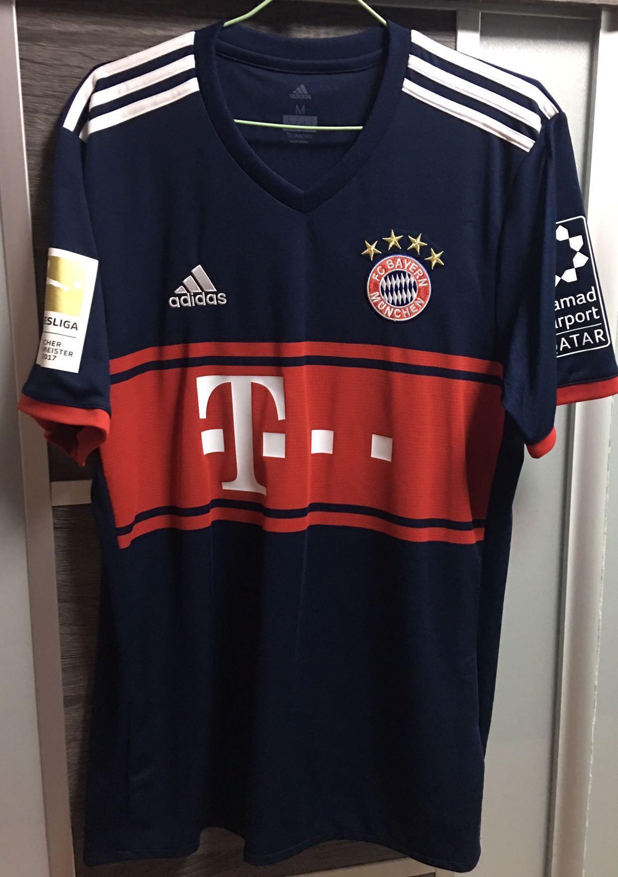 72038f49728 Black Friday) Authentic Bayern Munich 17 18 KIMMICH jersey