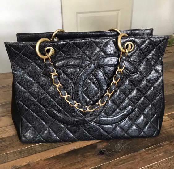 8899ddbdde9317 Chanel GST Vintage Caviar, Luxury, Bags & Wallets on Carousell