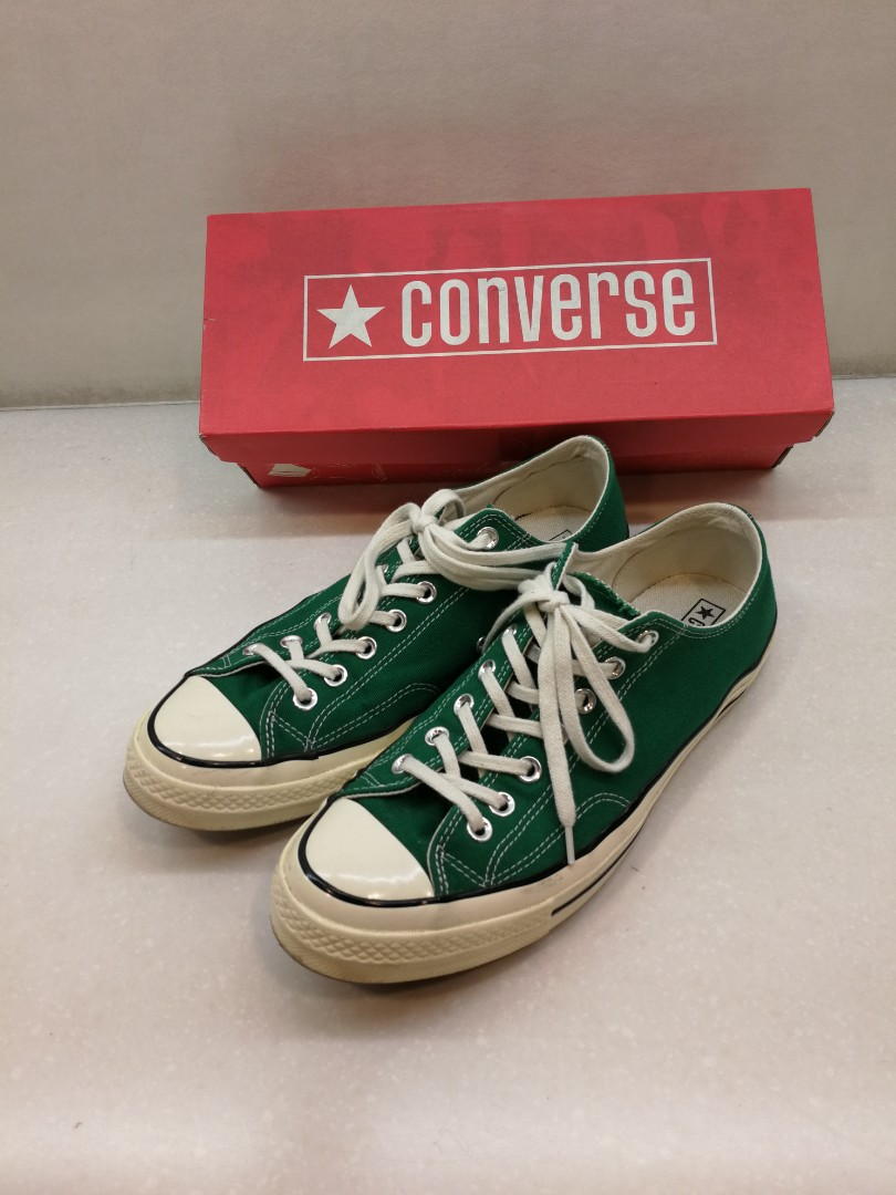 7dfd37879b9e Converse Chuck Taylor 1970s Low Amazon Green Vintage US10 70s CT 70 ...