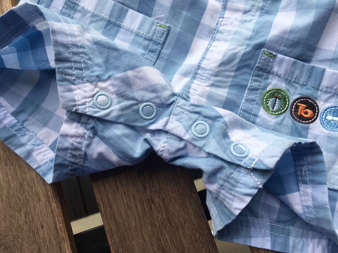 e4165bd5 DISNEY BABY 0-3M Tigger Winnie the Pooh light blue plaid overalls shortalls  jumper, Babies & Kids, Babies Apparel on Carousell