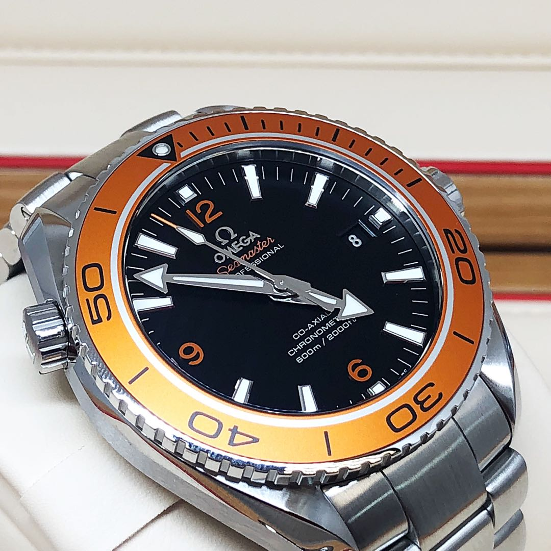 6c6791a3fd43 FS.BNIB OMEGA SEAMASTER PLANET OCEAN 600M CO-AXIAL 45.5MM ORANGE ...
