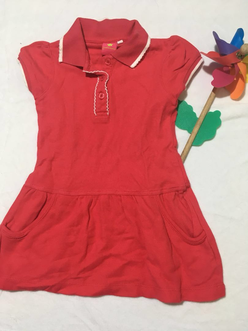 Fuschia Dress Shirt Babies Kids Girls Apparel 1 To 3 Years On