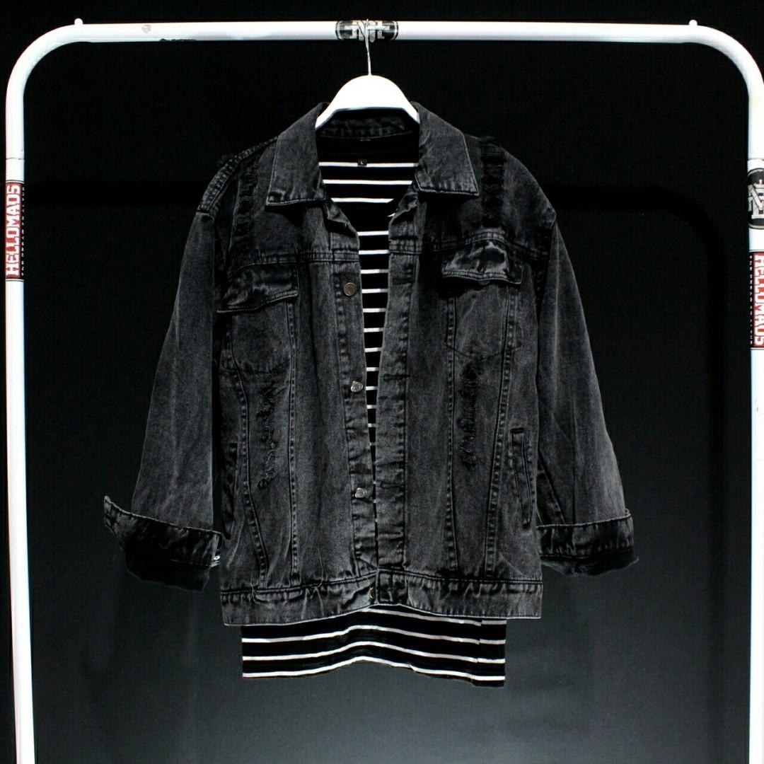 Jaket Pria / Wanita Merk Levis Original Distro, Men's Fashion, Men's Clothes, Tops on Carousell