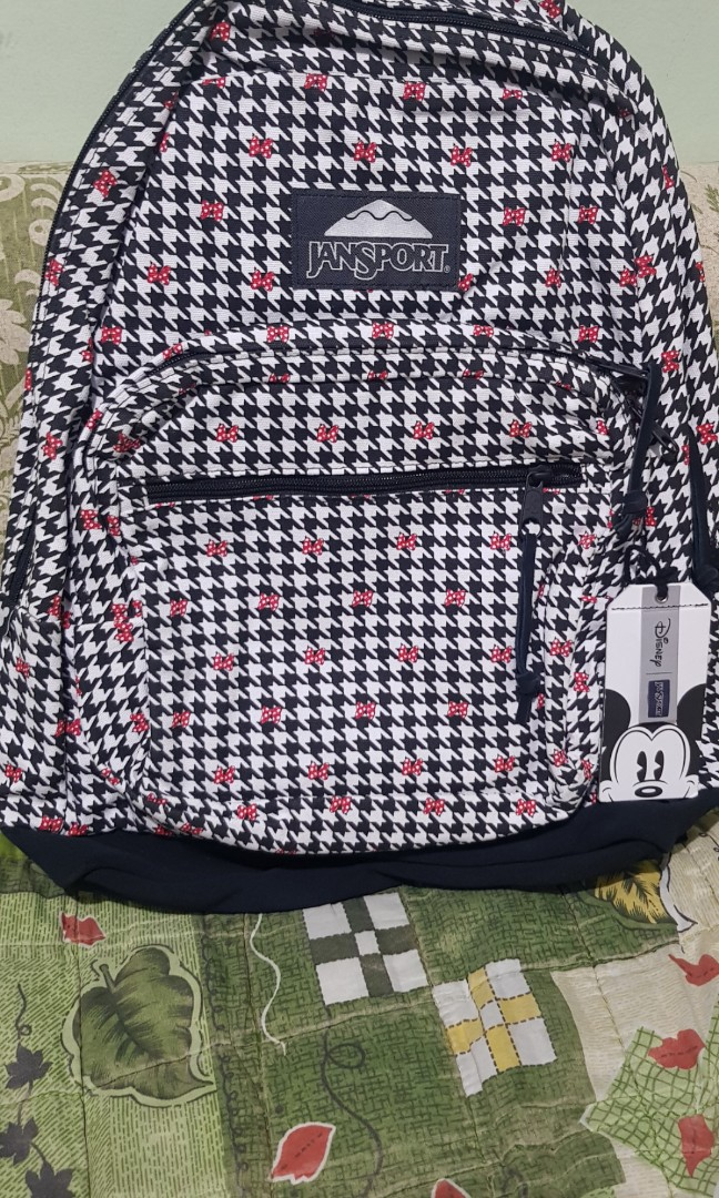 d991f938c01 Jansport Mickey Mouse Backpack Brand New and Original
