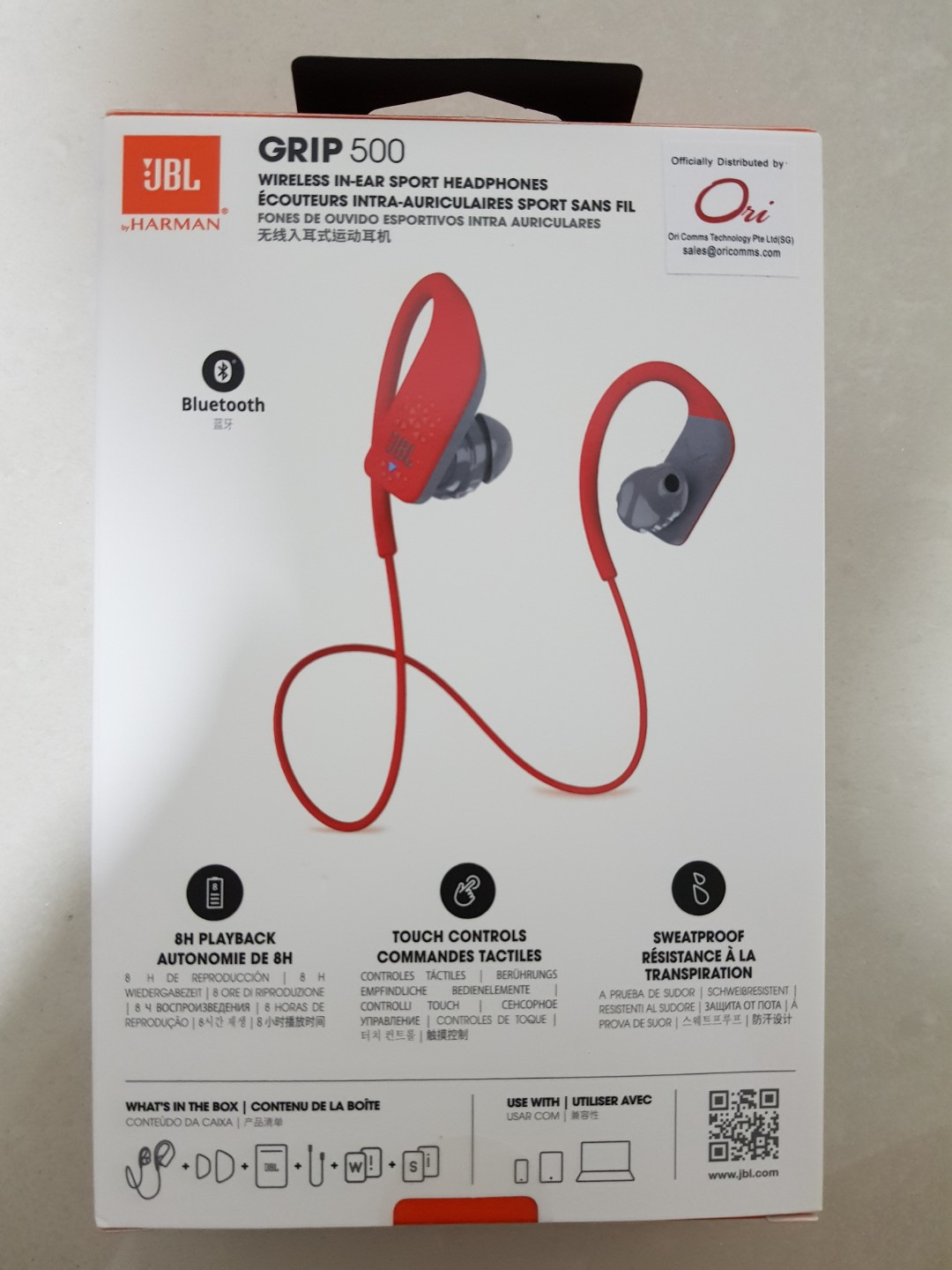 51edcc4e443 Red Wireless Headphones by JBL, Electronics, Others on Carousell