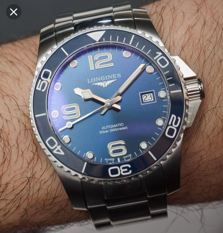 Longines HydroConquest L3 781 4 96 6, Men's Fashion, Watches