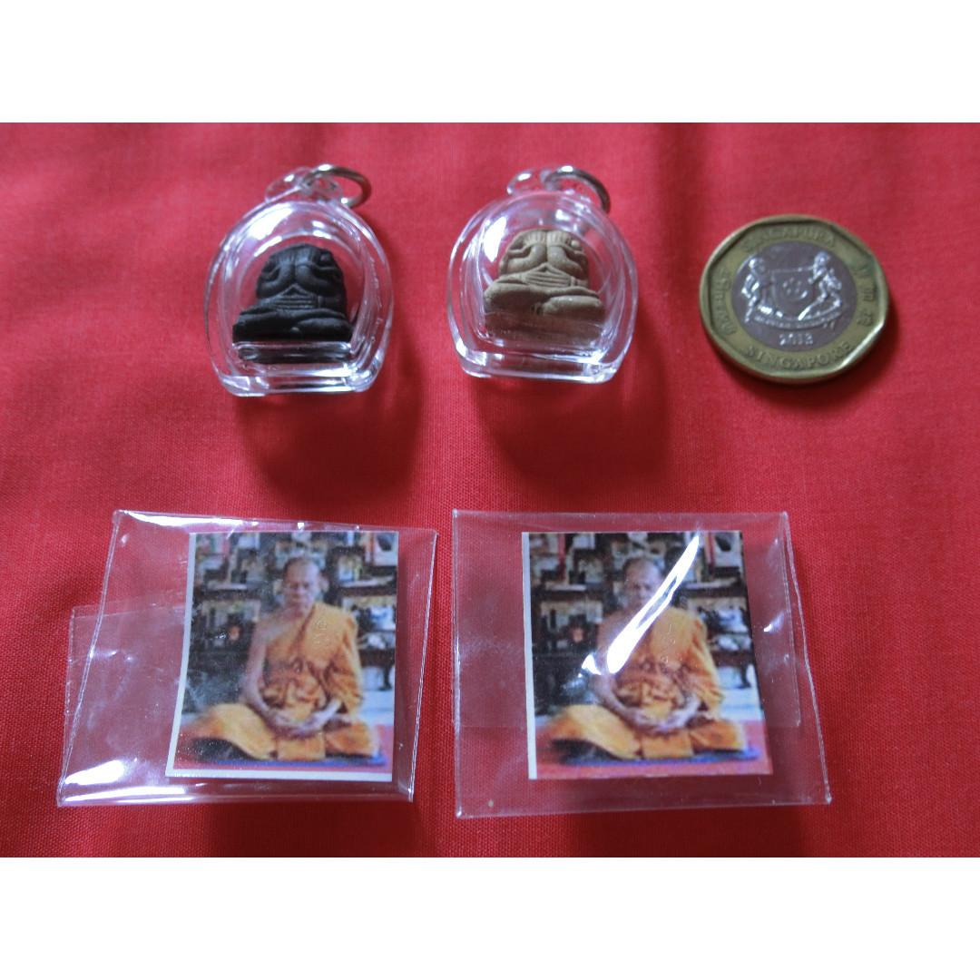 LP Sin Nur Phong Phra Pidta (comes with temple packaging and casing)