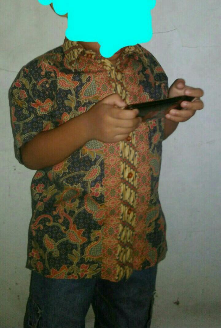 Batik keris anak laki, uk:4