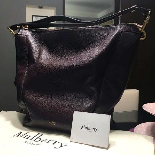 Mulberry Camden Bag in Oxblood a561049698e26