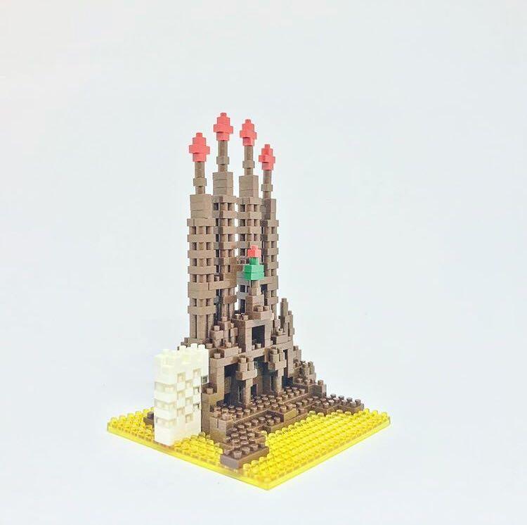Kawada Nanoblock Sagrada Familia NBH-005 NEW IN BOX